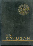 The Cayugan 1934 by Ithaca College