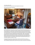 My Remote Teaching Workspace by Susan A. Delaney