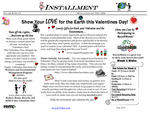 Show Your Love for The Earth This Valentines Day, January 2006 by Ithaca College, Office of Energy Management and Sustainability