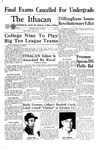 The Ithacan, 1960-03-16