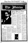 The Ithacan, 1982-01-21