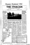 The Ithacan, 1984-11-02 by The Ithacan