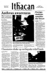 The Ithacan, 2001-11-01