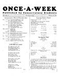 Once-A-Week, 1926-11-22 by Ithaca Conservatory and Affiliated Schools
