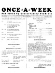 Once-A-Week, 1927-01-31 by Ithaca Conservatory and Affiliated Schools