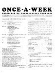 Once-A-Week, 1927-05-16 by Ithaca Conservatory and Affiliated Schools