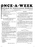 Once-A-Week, 1927-05-26