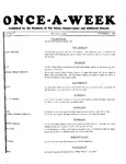 Once-A-Week, 1927-10-06 by Ithaca Conservatory and Affiliated Schools