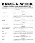 Once-A-Week, 1927-10-20