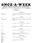 Once-A-Week, 1927-10-27 by Ithaca Conservatory and Affiliated Schools