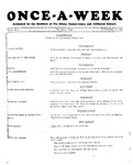Once-A-Week, 1927-11-17