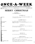 Once-A-Week, 1927-12-15 by Ithaca Conservatory and Affiliated Schools