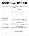 Once-A-Week, 1928-03-29 by Ithaca Conservatory and Affiliated Schools