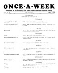 Once-A-Week, 1928-04-26