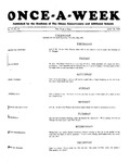Once-A-Week, 1928-05-10