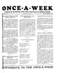 Once-A-Week, 1928-09-27 by Ithaca Conservatory and Affiliated Schools