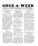 Once-A-Week, 1928-10-04