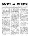 Once-A-Week, 1928-10-18 by Ithaca Conservatory and Affiliated Schools