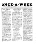 Once-A-Week, 1928-10-25