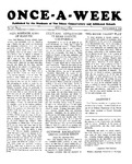 Once-A-Week, 1928-11-08