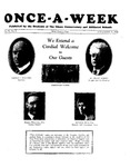 Once-A-Week, 1928-11-16 by Ithaca Conservatory and Affiliated Schools