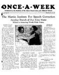 Once-A-Week, 1929-02-28 by Ithaca Conservatory and Affiliated Schools