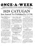 Once-A-Week, 1929-03-14