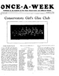 Once-A-Week, 1929-03-21 by Ithaca Conservatory and Affiliated Schools
