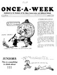 Once-A-Week, 1929-04-11 by Ithaca Conservatory and Affiliated Schools