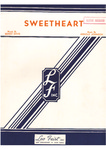 Sweetheart: fox trot song