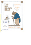 The big brown bear: a humorous song : [op. 52, no. 2]