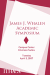 2007 Whalen Symposium Program by Ithaca College